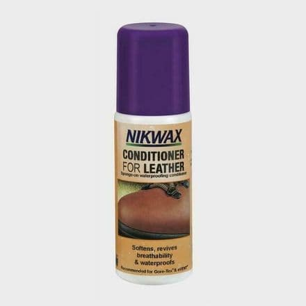 Nikwax Conditioner for Leather Footwear Waterproofing 125ml